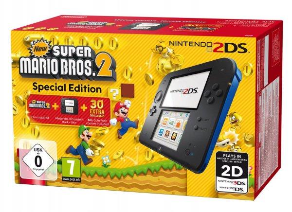 [Lokal] Medimax Kaiserslautern Nintendo 2DS blau/schwarz New Super Mario Bros. 2 Special Edition