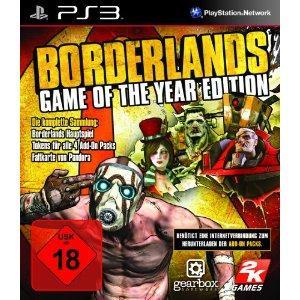 Borderlands - Game of the Year Edition [PS3] für nur 17 Euro