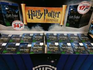 """Blu-Ray 33,95/DVD 17,99€ Box Set Harry Potter """"The complete Collection"""" real offline/online"""