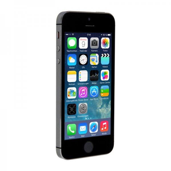 Apple iPhone 5S Smartphone 64GB (spacegrau, silber, gold) refurbished bei ebay/asgoodasnew für 369€