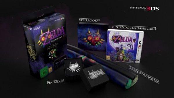 The Legend of Zelda - Majoras Mask - Special Edition wieder verfügbar - 60,98 € (technikdirekt.de)