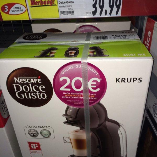 Nestle Dolce Gusto Mini Me 39,99€ @Kaufland Idealo 59,95