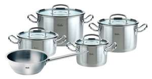 Fissler Profi Collection Topfset 5-teilig mit Glasdeckel