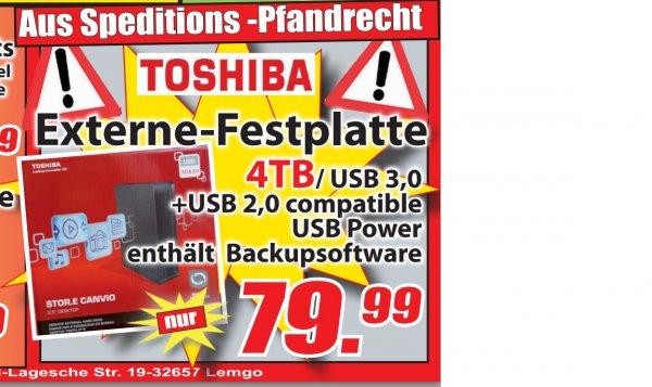 Magowsky - Toshiba externe Festplatte STOR.E Canvio 3,5 Zoll 4TB USB 3.0