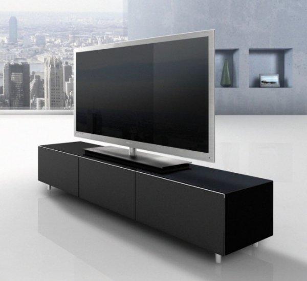 Just Racks JRL 1650 TV-Möbel Lowboard schwarz, 659,- EUR @ beamer24