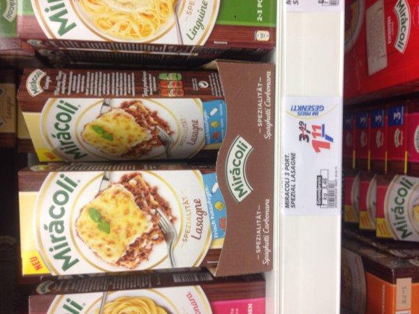 (Real) Miracoli Lasagne 0,11€ mit Gutschein