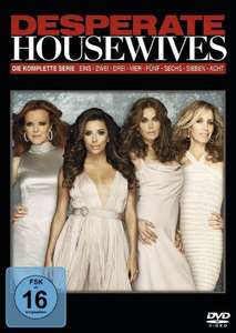 [Amazon] Desperate Housewives komplett auf 49 DVDs für 49,99 Euro // 44,99 Euro Saturn Online
