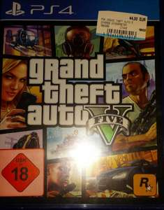 [Lokal MM Worms] PS4 GTA 5 44€ & The Evil Within 35€