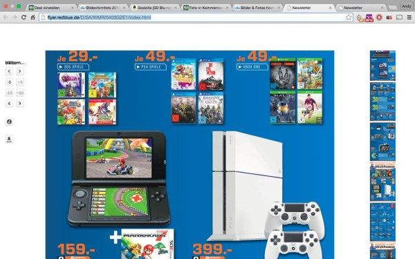 (Saturn Weimar AB 5.3.15)  3DS Spiele: Pokemon OMEGA 29€ Zelda Majoras Mask 29€ Super Smash Bros. 29€