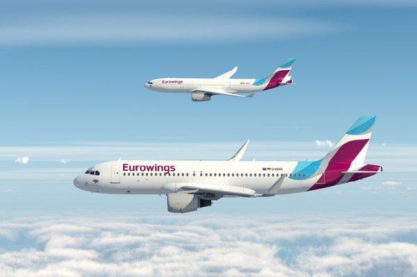 Flüge in Warmwassergebiete mit Eurowings ab sofort buchbar (ab 99,99 EUR/Strecke)