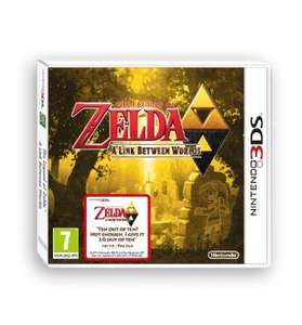 The Legend Of Zelda - A Link Between Worlds 3DS für 30,22€ @amazon.co.uk