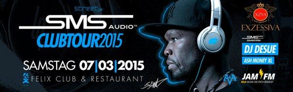 Felix (Berlin) - SMS Audio by 50 Cent Clubtour - Gratis Eintritt + Prosecco