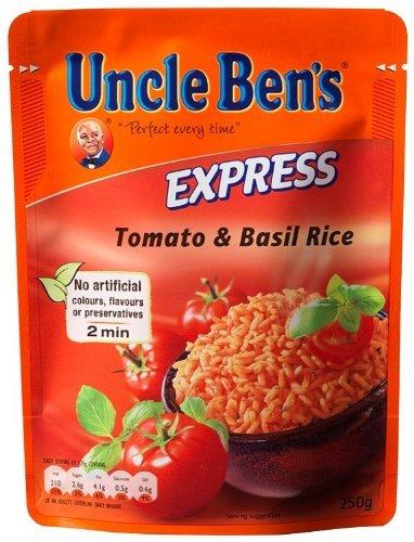 Uncle Ben's Express-Reis Mediterran 6x250g für 2,1 Euro = 0,35 Cent / Packung (+ Versand)