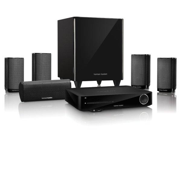 [Amazon] Harman Kardon BDS 775 5.1 3D Blu-ray System (200 Watt Subwoofer, HDMI) für 699€