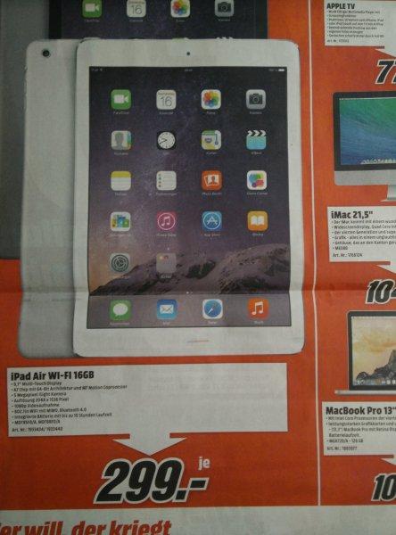 Ipad Air Wi-Fi 16 GB [Media Markt]