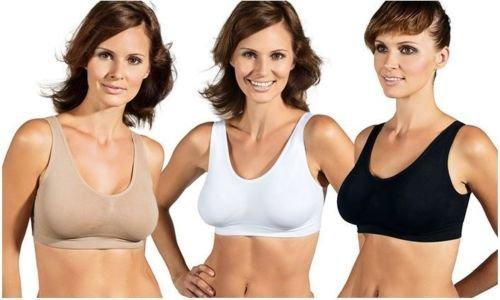 4er-Pack Sport-BH PERFECTfit BRA in 3 Farben  @Ebay.de