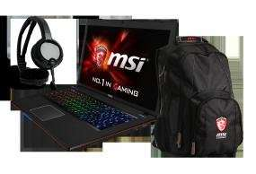 Gaming Notebook MSI GE70-2PCi5811W7 inkl. Gaming Rucksack + Gaming Headset + Versand für 829,00 € @ comtech