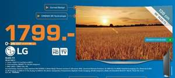[lokal Saturn Hamburg] LG 55EC930V OLED für 1.799,- € NUR am 07.03.2015