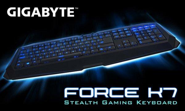 Gigabyte Force K7 Stealth Gaming Tastatur @ Otto.de