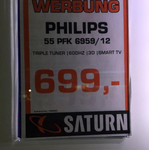 [Saturn Augsburg] Philips 55 PFK 6959/ 12 für 699 €