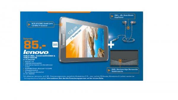 Lenovo A7-40 Tablet + Samsonite Tasche + JBL Bass Boost Kopfhörer bei Saturn in Frankfurt / Offenbach / Neu-Isenburg