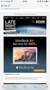 MacBook Air Saturn Late Night 829