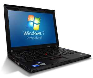 Gebraucht: Lenovo ThinkPad X201 Intel Core i7 - 2.6GHz 4GB / 320GB / Windows 7 Professional