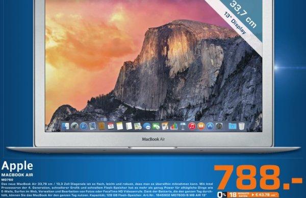 "[lokal Saturn Braunschweig] Apple MB Air 13,3"""