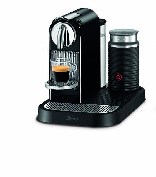 """DeLonghi™ - Kapselmaschine """"Nespresso Citiz (EN 266.BAE)"""" (inkl.Milchaufschäumer) für €119.- [@Redcoon.de]"""