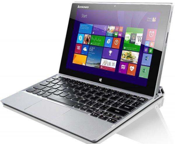 "Lenovo™ - Tablet-PC ""MIIX 2"" (10.1"" Full HD, Intel Atom Z3740,2GB RAM,64GB eMMC,Touchscreen,Win 8.1) für €249.- [@Redcoon.de]"