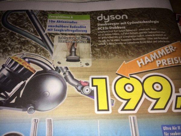 Dyson DC 33c Stubborn 199 €