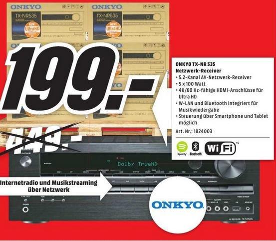 [lokal  HH] - Media Markt - Onkyo TX-NR535
