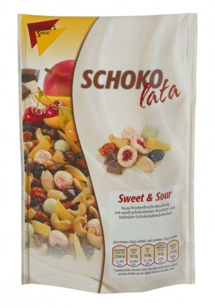 Amazon Prime: Farmer's Snack Schokolata Sweet und Sour, 5er Pack (5 x 125 g) Nur 6,08 €