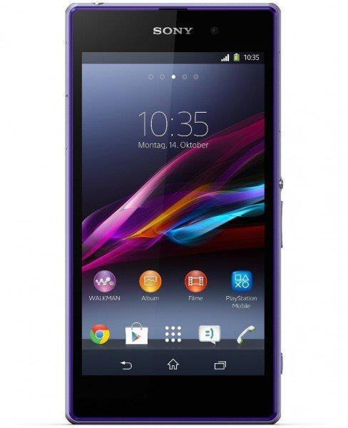 Sony Xperia Z1 purple für 86,89€ @getgoods