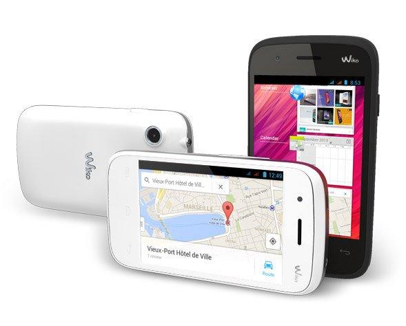 "Conrad ""B"": Wiko Ozzy Smartphone Weiß, DUAL SIM, für 36.- Euro"