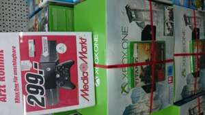 (lokal) Mediamarkt Potsdam Xbox one inkl. Assassins creed Unity, Black Flag und Titanfall für 299,- €