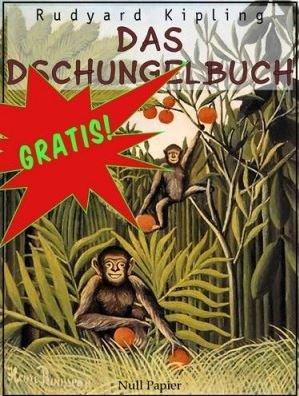 Das Dschungelbuch (Original von Rudyard Kipling) @Google play Bücher