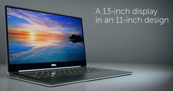 Dell XPS 13,    13 Zoll FHD IPS matt in 11 Zoll Gehäuse, i5 Broadwell, 8Gb, 256gb SSD, 1,18kg,  >10h Akku [Student]