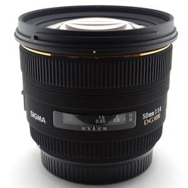 SIGMA 50mm F1,4 EX DG HSM (Canon, Nikon)