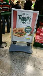 [Berlin] Subway Schloßstr. 26.3. Teriyaki Tag 1€