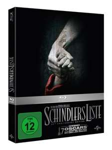Amazon.de Schindlers Liste - 20th Anniversary Edition Limited Edition Blu Ray 9.97 (Prime)
