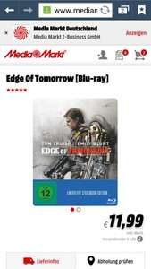 [Media Markt Essen] Edge of tomorow Steelbook