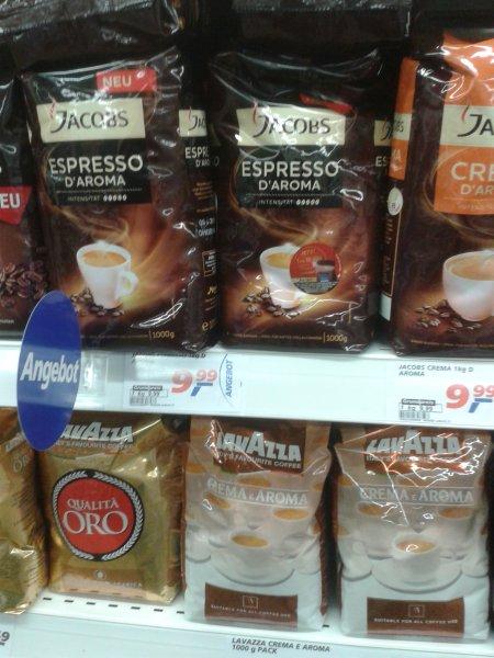 Jacobs D'aroma bei Real für 5,99 dank 4 € Cashback Aromawechselprämie