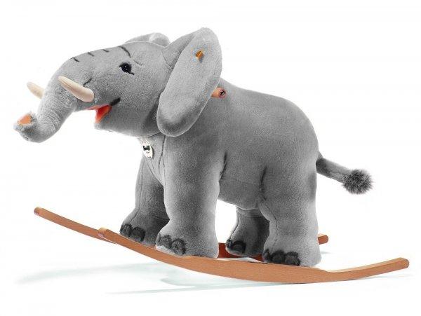 [Amazon] Steiff Trampili Reit-Elefant, 70cm, grau für 312,54€