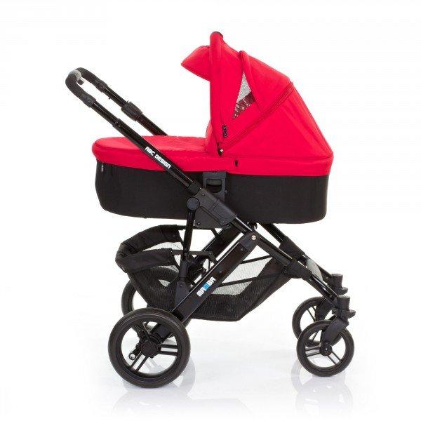 ABC Kinderwagen Kombikinderwagen MAMBA rot, 399,- EUR @ moebel-shop