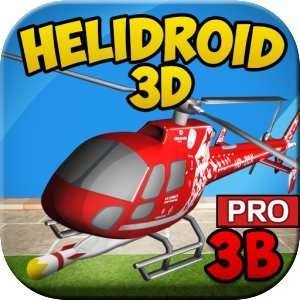 Helidroid 3B PRO : 3D RC Hubschrauber  Amazon App des Tages