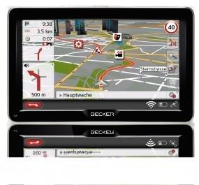 [Comtech/Comdeal] Becker Professional 70 LMU Navigationsgerät Lifetime Maps TMC für 222,-€ Versandkostenfrei
