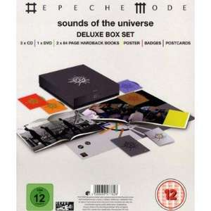 Depeche Mode - Sounds Of The Universe (Deluxe Box-Set / 3 CDs+DVD) [@Zavvi.com]