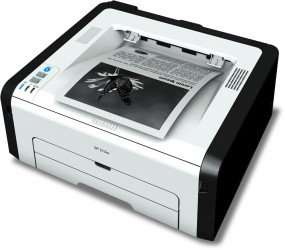 RICOH SP 213w Laserdrucker s/w (A4, Drucker, WLAN, USB) für 49€ @ Office Partner