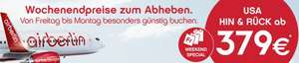 [Air Berlin] Berlin - Chicago für 370,65  € HIN & RÜCK  //  Berlin - NYC ab 469